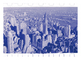 New York City In Winter III In Colour Photographic Print by  British Pathe