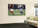 Falcons Cowboys Football: Arlington, TX - Miles Austin Prints by Lm Otero