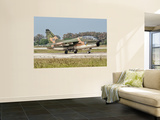 An A-7 Corsair Ii of the Hellenic Air Force at Araxos Air Base, Greece Print by  Stocktrek Images