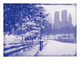New York City In Winter VIII In Colour Photographic Print by  British Pathe