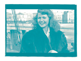 Rita Hayworth II In Colour Photographic Print