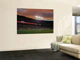 Bills Panthers Football: Charlotte, NC - Bank of America Stadium Print by Rick Havner