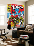 X-Men Annual 10 Cover: Warlock, Sunspot, Wolfsbane and New Mutants Posters par Arthur Adams