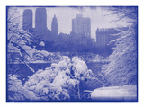 New York City In Winter IX In Colour Photographic Print by  British Pathe