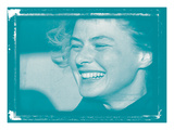 Ingrid Bergman In Colour Photographic Print by  British Pathe
