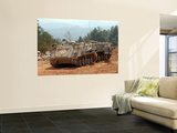 A M113 Armored Personnel Carrier of the Israel Defense Forces Print by  Stocktrek Images