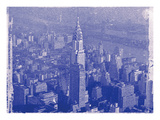 New York City In Winter IV In Colour Photographic Print by  British Pathe