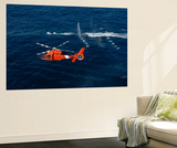A Helicopter Crew Trains Off the Coast of Jacksonville, Florida Art by  Stocktrek Images