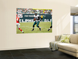 Chiefs Eagles Football: Philadelphia, PA - Michael Vick Art by Mel Evans