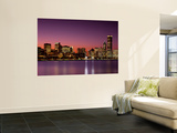 Dusk, Skyline, Chicago, Illinois, USA Prints