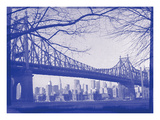 New York City In Winter II In Colour Photographic Print by  British Pathe