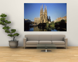 Sagrada Familia, Barcelona, Spain Art by Kindra Clineff