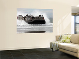 U.S. Navy Landing Craft Air Cushion Makes a Beach Landing Prints by  Stocktrek Images