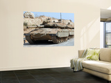 The Merkava Mark IV Main Battle Tank of the Israel Defense Force Posters by  Stocktrek Images