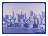 New York City In Winter VI In Colour Photographic Print by  British Pathe
