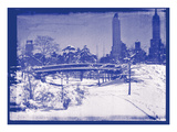 New York City In Winter V In Colour Photographic Print