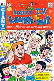 Archie Comics Retro: Archie's T.V. Laugh-out Cover No.1 with Sabrina the Teen-age Witch (Aged) Prints