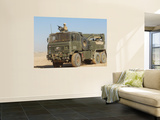 A British Army Foden 6X6 HeaVY Recovery Vehicle Prints by  Stocktrek Images