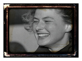 Ingrid Bergman Photographic Print by  British Pathe
