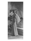 Vogue - May 1933 - Toto Koopman in Kimono Gown Regular Photographic Print by George Hoyningen-Huené