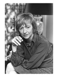 WWD - November 1972 - Francoise Sagan Regular Photographic Print by Pierre Schermann