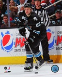 Ryane Clowe 2011-12 Action Photo