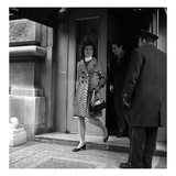 WWD - March 1967 - Jackie Kennedy on the Street Photographic Print by Sal Traina