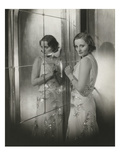 Vanity Fair - November 1931 - Tallulah Bankhead in Reflection Premium Photographic Print by Cecil Beaton