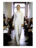 WWD - February 1999 - Helmut Lang RTW Fall 1999 Show Regular Photographic Print by John Aquino