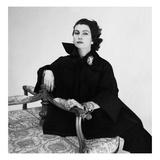 Vogue - May 1951 - Simonetta Visconti Regular Photographic Print by Clifford Coffin