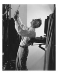 Vogue - June 1941 - Edward Steichen at Work Regular Photographic Print by George Hoyningen-Huené