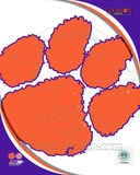Clemson University Tigers Team Logo Photo
