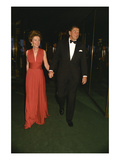 WWD - May 1973 - Nancy and Ronald Reagan Premium Photographic Print by Sal Traina
