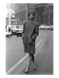 WWD - March 1983 - Giorgio Armani Fall 1983 RTW Premium Photographic Print by Tim Jenkins