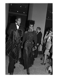 WWD - December 1983 - Metropolitian Museum&#39;s Yves Saint Laurent Exhibition Photographic Print by Tony Palmieri