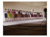Vogue - August 1959 - Chorus Line