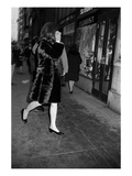 WWD - February 1967 - Jackie Kennedy in Manhattan Photographic Print by Sal Traina