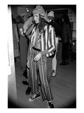 WWD - November 1992 - Perry Ellis Spring 1993 Show Backstage Premium Photographic Print by Kyle Ericksen