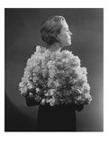 Vogue - May 1934 - Carnation Cape by Augustabernard Regular Photographic Print by Lusha Nelson