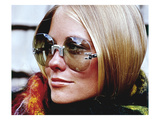 Glamour - November 1969 - Cybill Shepherd Modeling Sunglasses Photographic Print by William Connors