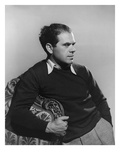 Vogue - April 1937 - Frank Capra Regular Photographic Print by Alfredo Valente