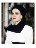 W - September 1984 - Paloma Picasso Premium Photographic Print by John Kenny