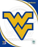 West Virginia University Mountaineers Team Logo Photo