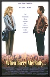 When Harry Met Sally Framed Canvas Print
