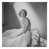 Vogue - November 1953 Regular Photographic Print by Clifford Coffin