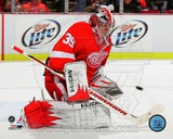 Jimmy Howard 2011-12 Action Photo
