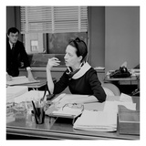 WWD - Diana Vreeland Regular Photographic Print by Tony Palmieri