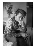 W - March 1990 - River Phoenix Premium Photographic Print by Tony Palmieri