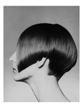 WWD - May 1965 - Vidal Sassoon Bob Regular Photographic Print by Barry Lategan