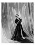 Vogue - April 1934 - Mary Taylor in Vionnet Gown Regular Photographic Print by Cecil Beaton